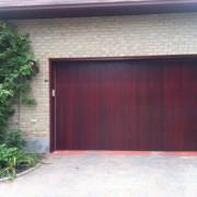 Garage doors painting