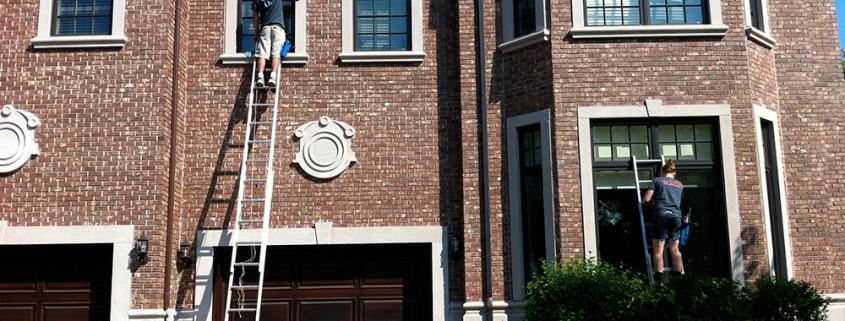 Lavage vitres résidentielle