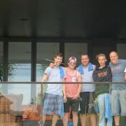 Laveur de fenêtres résidentielles