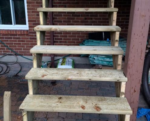 Rénovation escalier